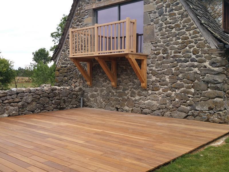 Terrasse et balcon en bois