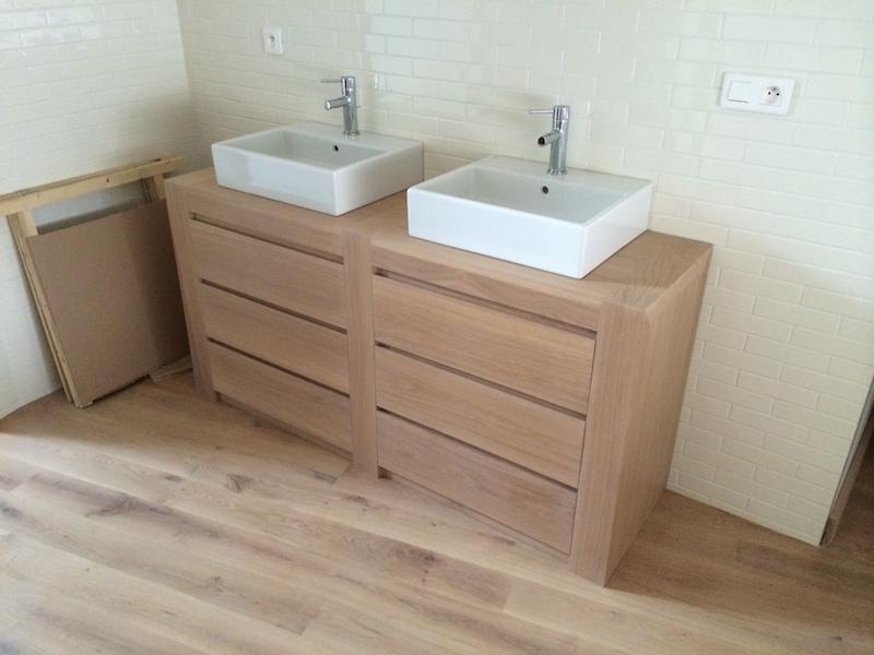 lavabo deux bacs