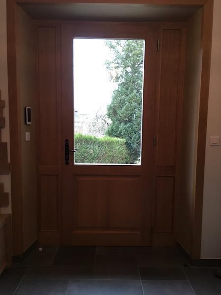 porte entrée avec vitre