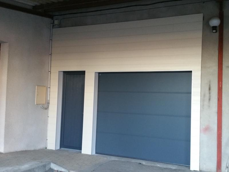 porte garage moderne