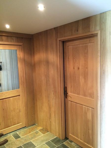 portes en bois de chêne