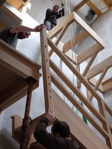 Assemblage escalier