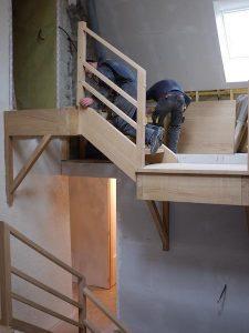 Fixation escalier