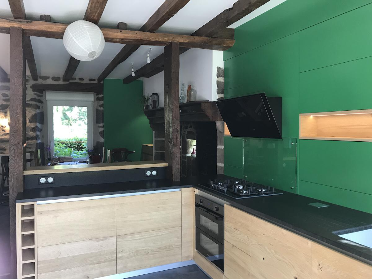 cuisine moderne menuiserie comby
